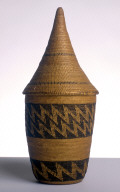 """Lidded Basket (""""Agaseki"""" or """"Ibeseke"""")"""