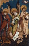 Saints George, Michael, and John the Baptist