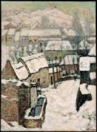 Ch?øteau at Murols in Winter