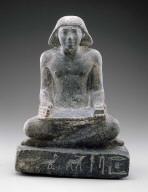 Babaef represented as a scribe