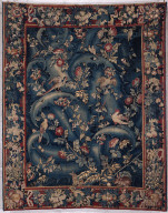 Tapestry: Verdure with Giant Leaves, probably from a series