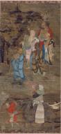 Pilgrims Offering Treasures to Lohans