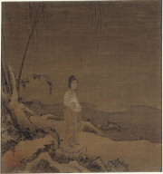 Snowscape with a Standing Woman