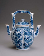 Lover's double-spouted wine or tea pot