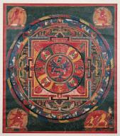 Mandala of Samvara in yabyum position with Vajrahari
