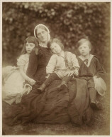 Group Portrait (Julia Duckworth with Florence, George and Herbert Fisher)