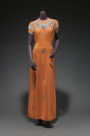 Woman's dinner dress (in two components)