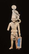 Jaina-style warrior figure
