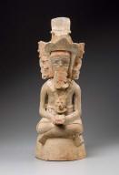 Human effigy incense burner top