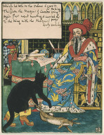 Puss Presents the Rabbit to the King, as a Present from the Marquis of Carabas