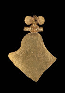 Avian effigy pendant