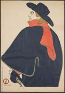Aristide Bruant in his Cabaret
