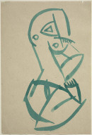 "Figure (Study for or after ""Red Steone Dancer"")"