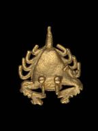 Horseshoe crab effigy