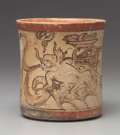 Codex-style cylinder vase