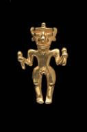 Male effigy pendant
