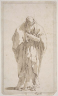 Old Man Standing with Arms Folded