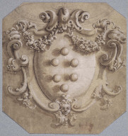 Cartouche with the Medici Coat of Arms