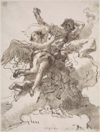 Flying Angels and Cherubs with the Instruments of the Passion