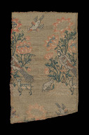 Fragment with birds, flowers, and animals