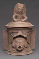 K'iché burial urn or cache urn lid