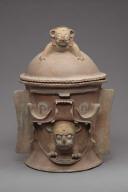 K'iche burial or cache urn lid