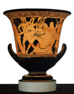 Calyx krater (mixing bowl) with scenes from the fall of Troy