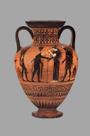Amphora with Herakles