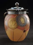 Royal Flemish covered jar