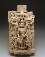 Doorjamb relief with Dikapala