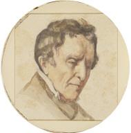 Portrait of Regis Courbet, the Artist's Father