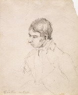 Portrait Sketch of Thomas Girtin