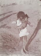 Moki Indian Boy and Baby, Oraibi