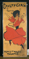 POSTER: A Gaiety Girl