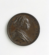 MEDAL of the antiquarian Martin Folkes