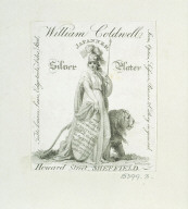 TRADE CARD of William Coldwell of Sheffield