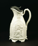 JUG decorated with a biblical scene