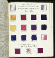 FABRIC SAMPLES from 'The Practical mechanic's journal...'