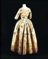 GOWN made from silk designed by Anna Maria Garthwaite