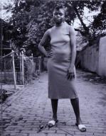 A Young Woman between Carrolburg Place and Half Street, Washington, DC