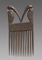 Comb with Birds