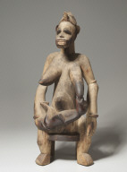 Mother and Child Figure