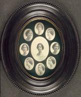 Medallion Portrait of a Woman