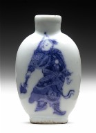 Snuff Bottle with Two Figures