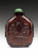 Snuff Bottle with Fishermen