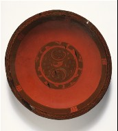 Dish (Pan) with Spirals