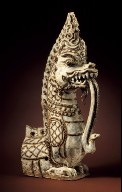 Architectural Fitting in the Form of a Naga and Snake