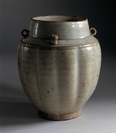 Fluted Jar (Quan) with Loops on Shoulder