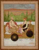 Portrait of Fakir Khan and His Sons