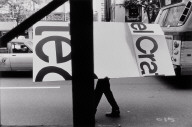 Man Carrying Sign, Chicago